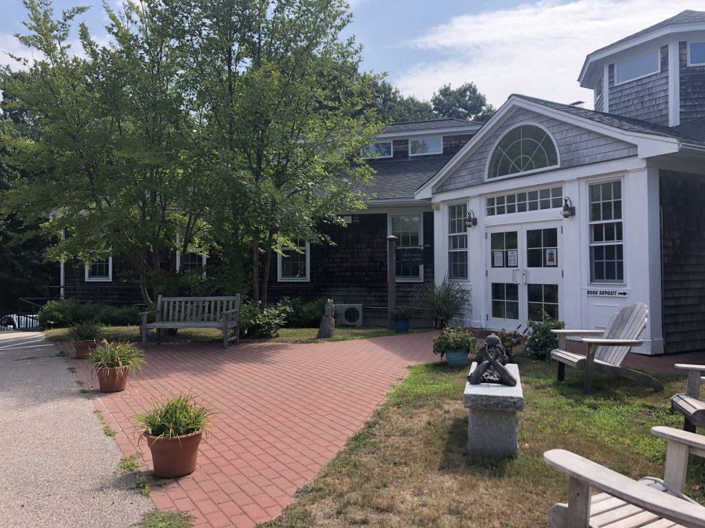 Cross Mills' Library in Charlestown, RI